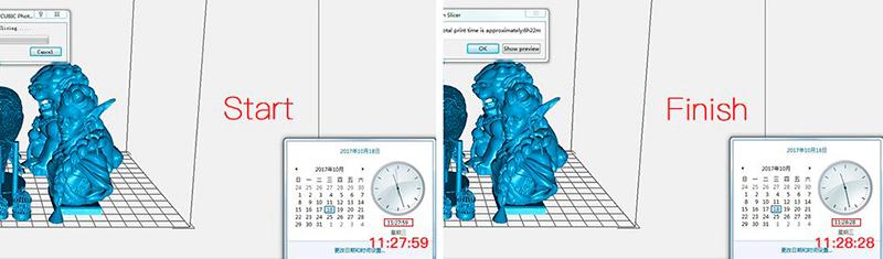 Многофункциональный слайсер слайсит файл 30 Мб за 1 минуту