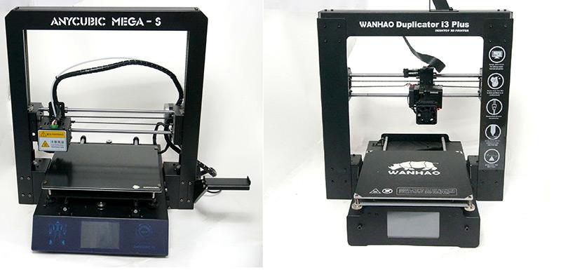 Сравнение Anycubic i3 Mega S и Wanhao Duplicator i3 Plus