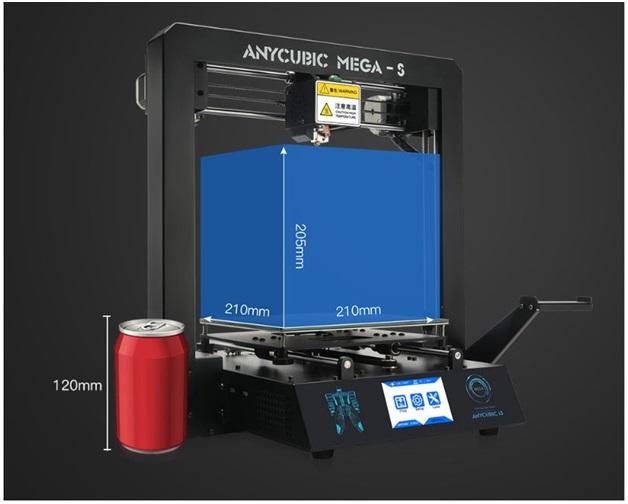 Большой объём печати 3D принтера