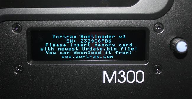 Обзор 3D принтера Zortrax M300
