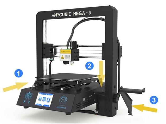 Быстрая сборка принтера в 3 шага