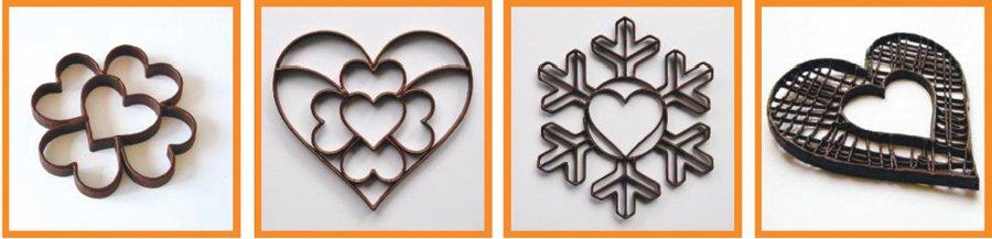 Технология 2.5D-печати шоколадом с помощью 3D принтера