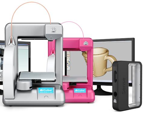 3d сканеры 3d systems 3d принтер cube 3д сканер