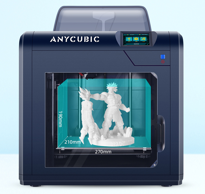 Anycubic 4Max Pro 2.0 большая область печати